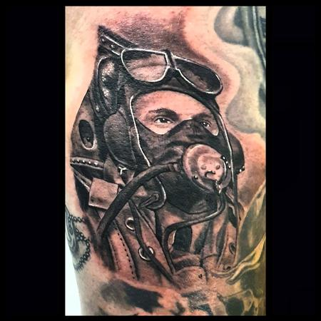 Tattoos - WW2 Spitfire Pilot - 142230