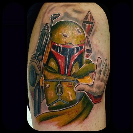 Tattoos - New School Boba Fett - 142763