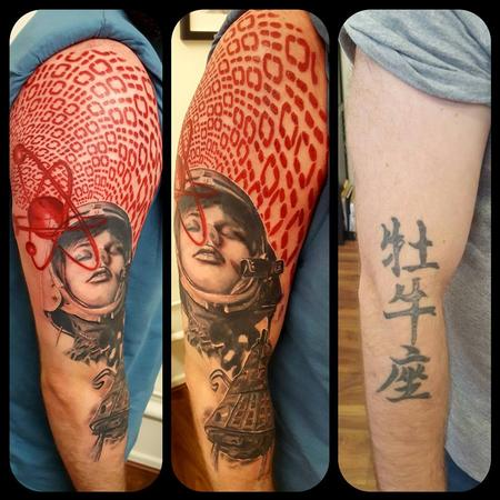 Tattoos - Astro Girl - 133753