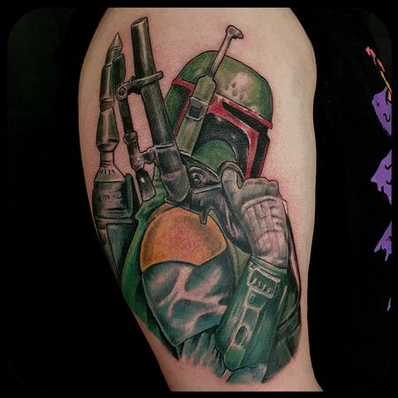 Tattoos - The Bounty Hunter - 142762