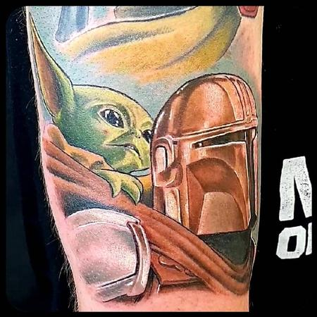 Tattoos - Mondo and Grogu - 142766