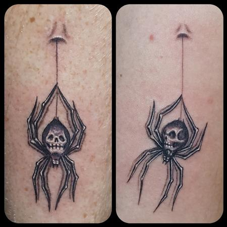 Tattoos - His and Hers Spiders - 134986