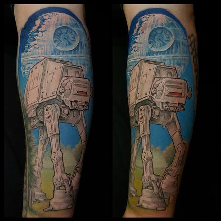 Tattoos - AT-AT Walker - 138778