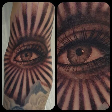 George Scharfenberg  - All seeing eye