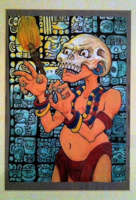 Mayan Priest Art Thumbnail