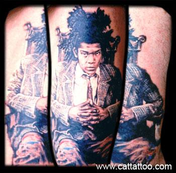 Tattoos - Basquiat - 16093