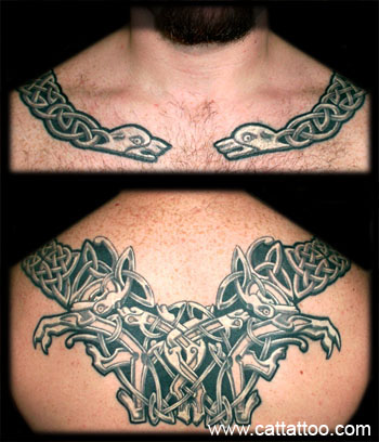 Tattoos - Celtic Necklace - 18808