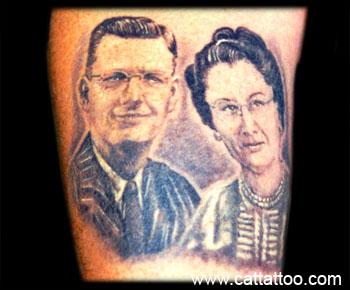 Tattoos - Gene's Parents - 18806