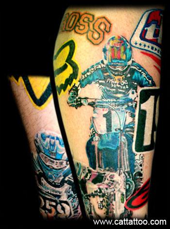 Tattoos - MotoX - 16089