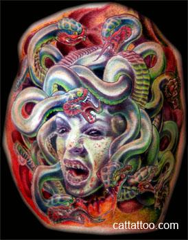 Tattoos - Medusa - 24122