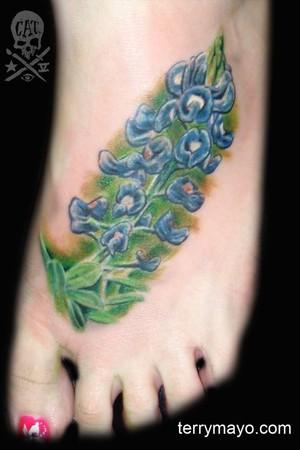Tattoos - Bluebonnet - 42900