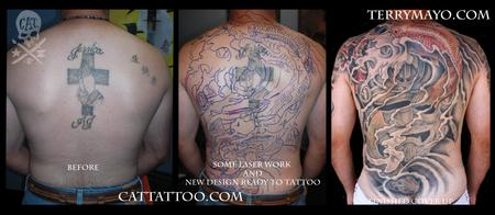 Tattoos - Cover Up Process - 57583