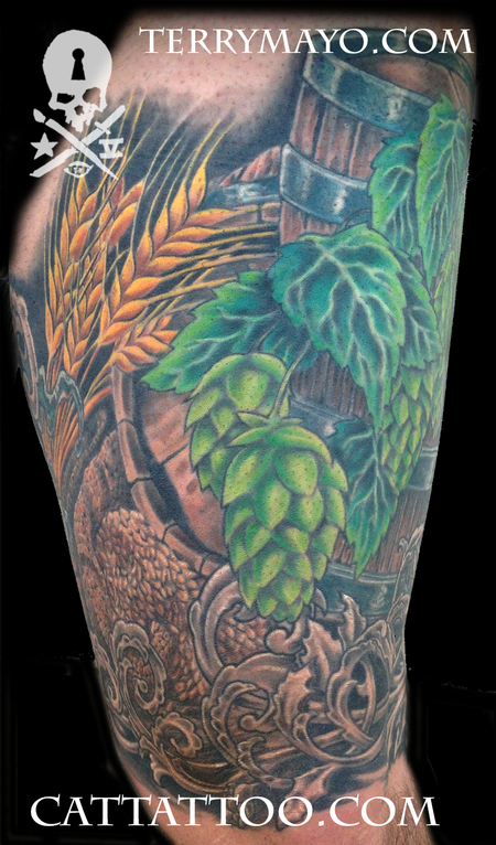 Tattoos - Brewmaster Leg - 93680