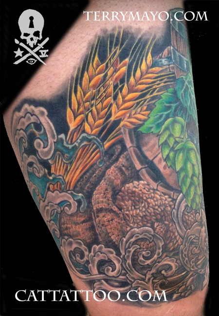 Tattoos - Brewmaster Leg - 93681