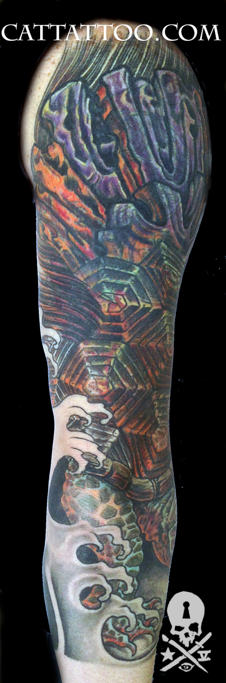 Tattoos - Turtle Coverup - 93684