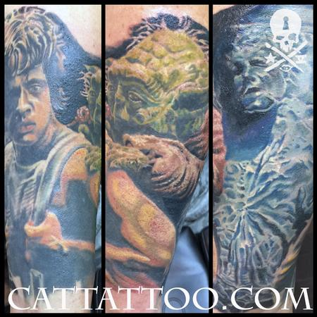 Tattoos - Luke Yoda Han - 115209