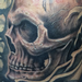 Prints-For-Sale - Skull Sleeve in Progress - 93701