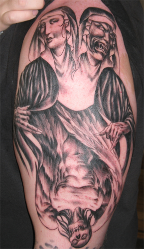 Tattoos - Mary Devil - 17654