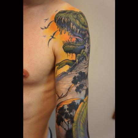 Tattoos - dinosaurs detail - 99319
