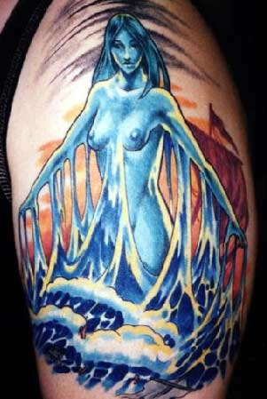 Tattoos - Water Fairy - 6607