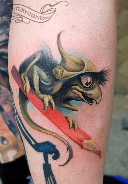 Tattoos - Brian Froud's troll - 59597