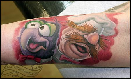 Tattoos - Gonzo and Swedish Chef - 59596