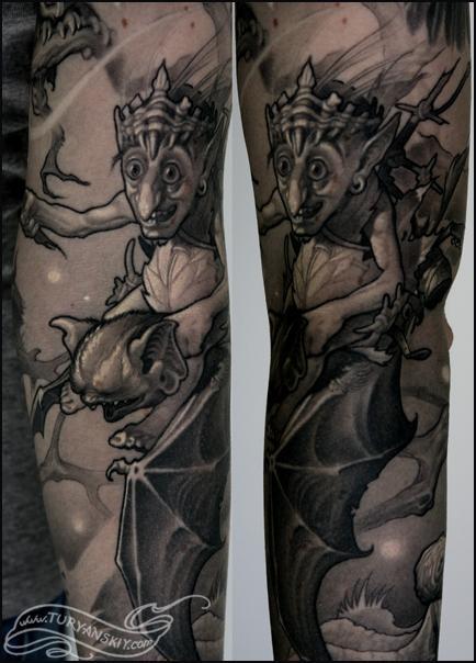 Tattoos - Night Forest close up v1 - 78800