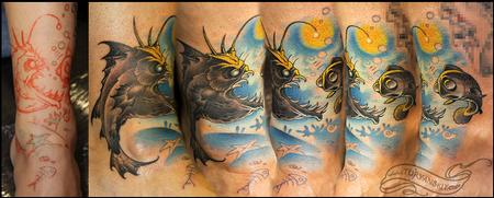 Tattoos - Underwater situation - 60685
