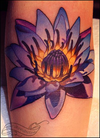 Tattoos - Blue Lotus Tattoo - 71717