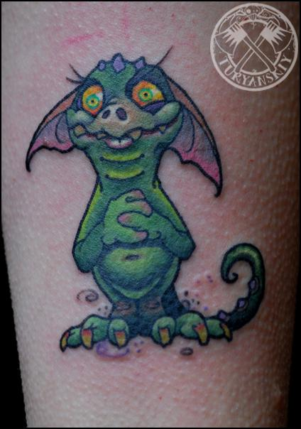 Tattoos - Little Dragon - 80506