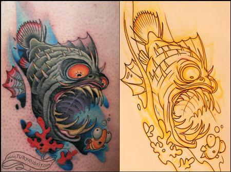 Tattoos - Underwater situation vol.2 - 70599