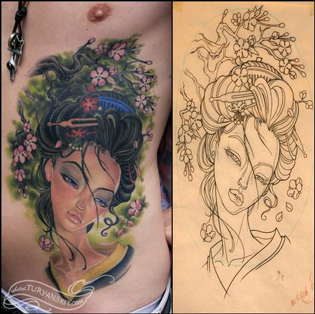 Tattoos - Geisha - 74324