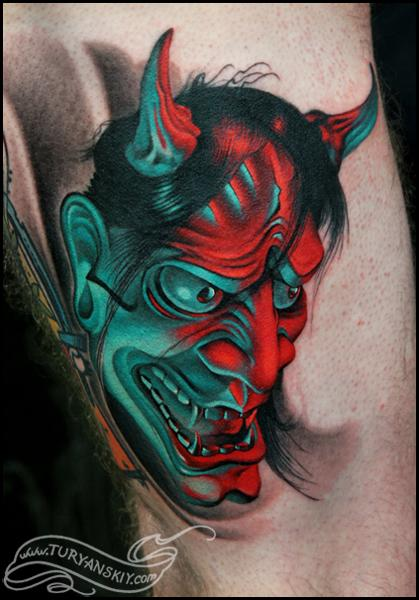 Tattoos - Hannya mask - 61205