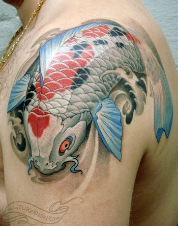 Tattoos - Koi fish - 47210