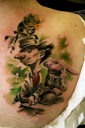 Tattoos - Mad hatter - 46835
