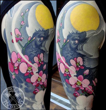 Tattoos - Ravens - 89288