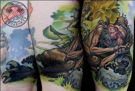 Tattoos - Satyr - 86378