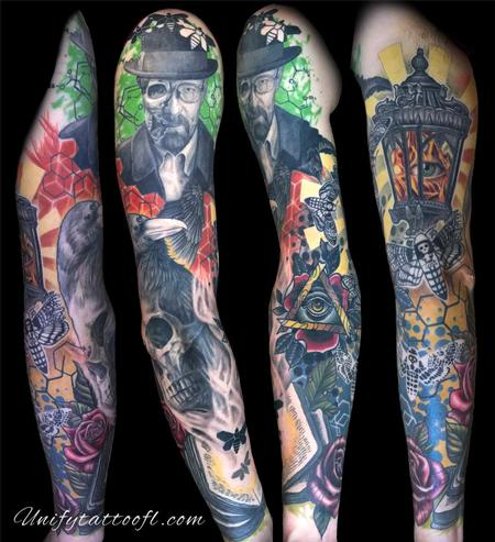 Tattoos - Abstract Sleeve - 129387