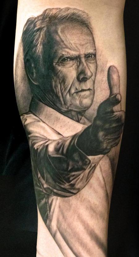 Tattoos - Clint Eastwood - 99081