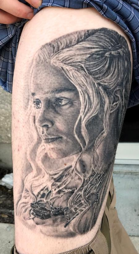Tattoos - Emelia Clarke - 139944
