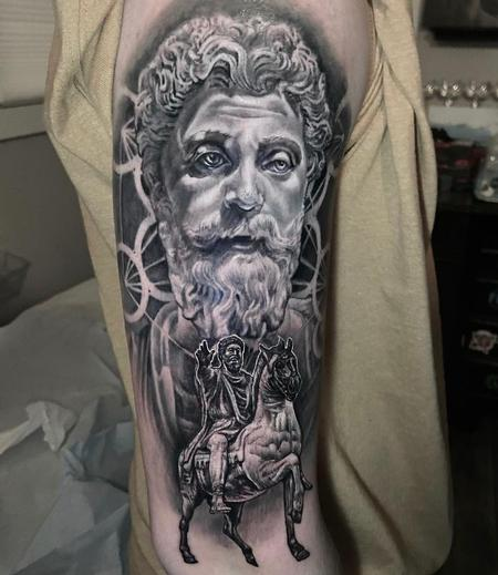 Tattoos - Greek Statue - 142822