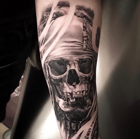 Tattoos - Skull   - 139714