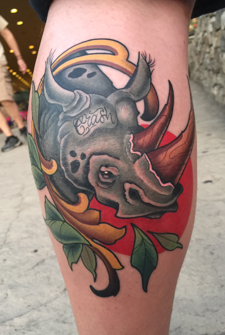 Tattoos - Rhinoceros tattoo  - 139847