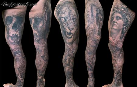 Pepper - Warrior leg sleeve