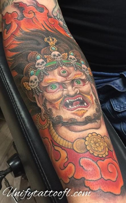 Tattoos - Mahakala Tattoo - 120368
