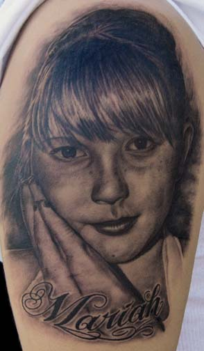 Tattoos - Daughter Portrait - 38327