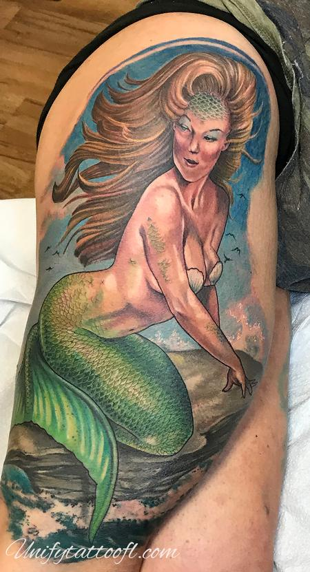 Tattoos - Mermaid - 138911