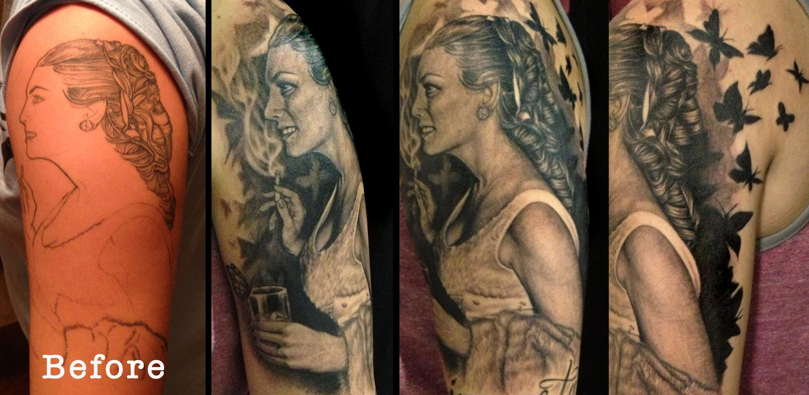 Tattoos - Before and After - 80635
