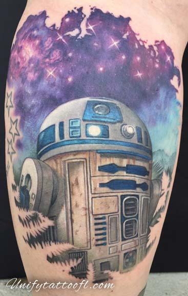 Tattoos - R2-D2 - 129369