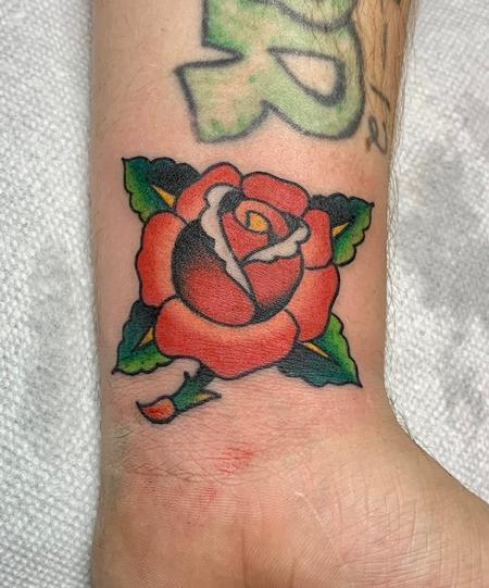 Tattoos - Color rose - 142266